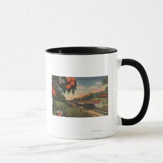 Train- Orange Blossom Special Mug