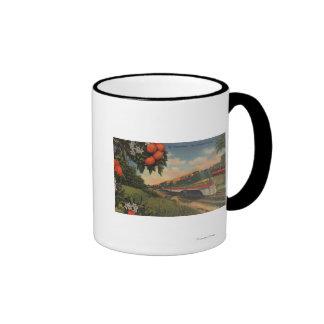 Train- Orange Blossom Special Ringer Coffee Mug