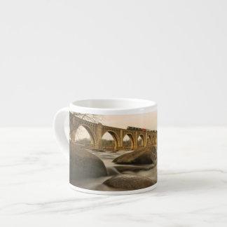 Train over James River Espresso Cup