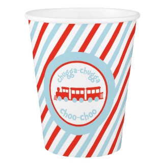 Train Party Paper Cup