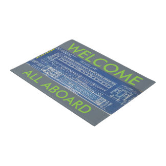 TRAIN PASSENGER CAR DOOR MATT DOORMAT