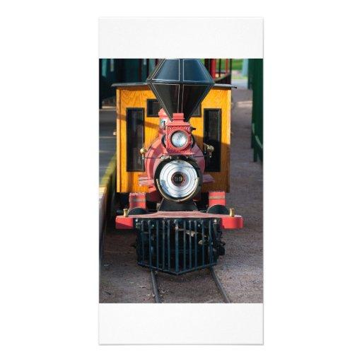 Train photo card