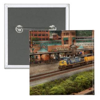Train - Pittsburg, PA - Station Square Button
