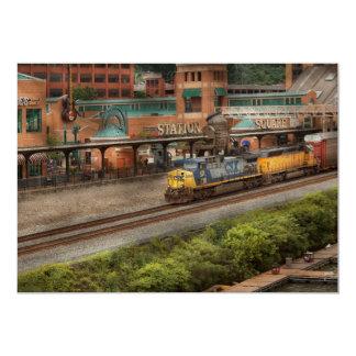 Train - Pittsburg, PA - Station Square Card