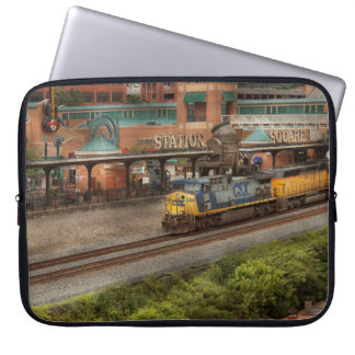Train - Pittsburg, PA - Station Square Laptop Sleeve