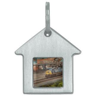 Train - Pittsburg, PA - Station Square Pet ID Tag