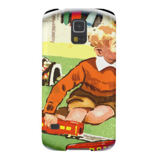 Train play 50s style galaxy s5 case