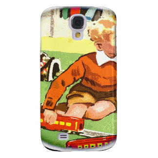Train play 50s style samsung galaxy s4 cover
