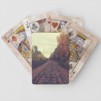Train Playing Cards