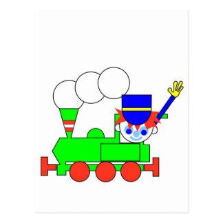 Train Postcard