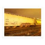 train postcards