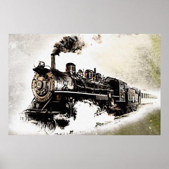 Train Poster Zazzle Com