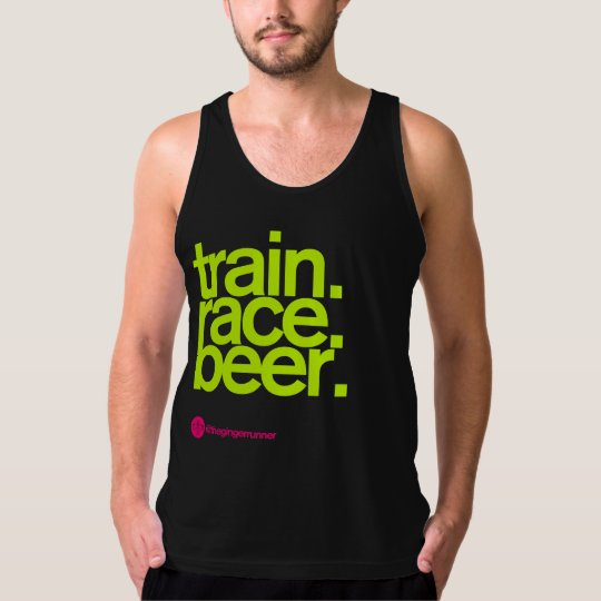 TRAIN.RACE.BEER. AA Tank Top