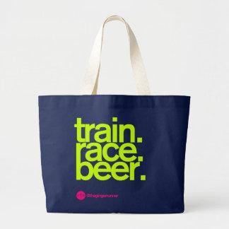 TRAIN.RACE.BEER. Race Tote Bag