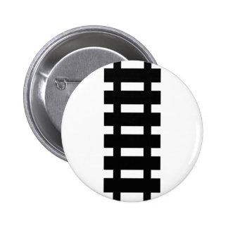 train railway black icon pinback button