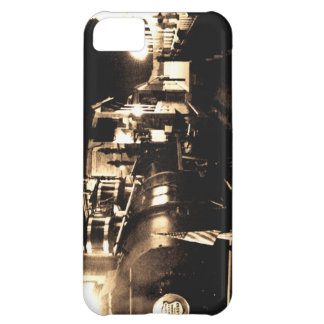 Train ready to depart station iPhone 5C cover