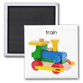 Train Refrigerator Magnet