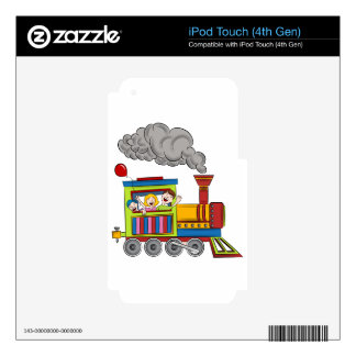 Train Ride Children iPod Touch 4G Decals