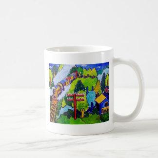 Train Ride Coffee Mug