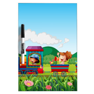 Train ride Dry-Erase board