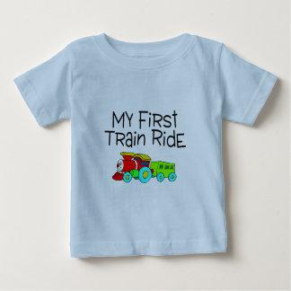 Train Ride My First Train Ride Baby T-Shirt