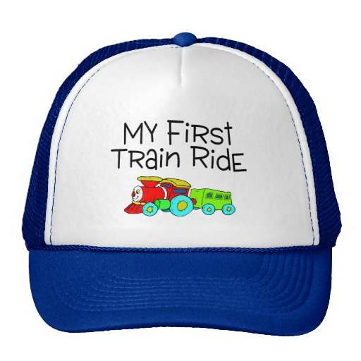 Train Ride My First Train Ride Trucker Hat