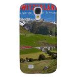 Train Ride through the Swiss Alps Samsung Galaxy S4 Cases