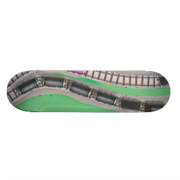 Train Set Skateboard Deck