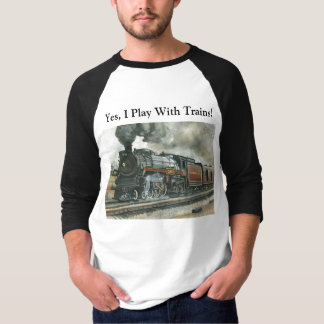 Train Shirt - 3/4 Sleeve Raglan