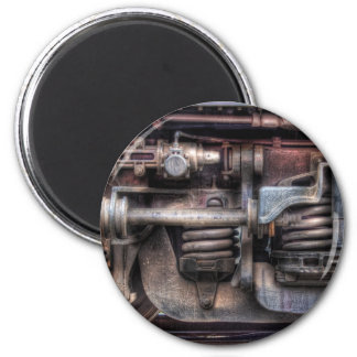 Train - Springs and Things 2 Inch Round Magnet