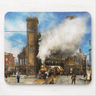 Train Station - Boston & Maine Railroad Depot 1910 Mouse Pad