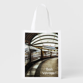 Train Station Grocery Bags