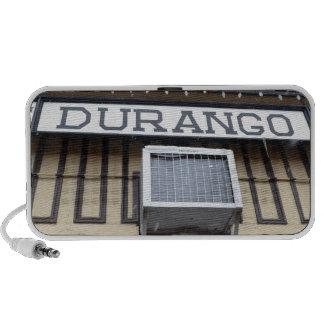 Train Station in Durango, Colorado Mini Speaker