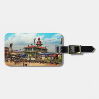 Train Station - Louisville and Nashville Railroad Luggage Tag