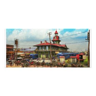 Train Station - Louisville and Nashville Railroad Rack Card