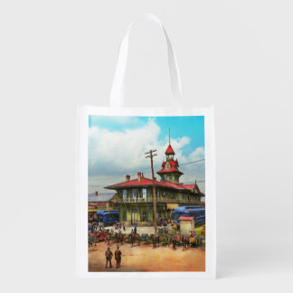 Train Station - Louisville and Nashville Railroad Reusable Grocery Bag