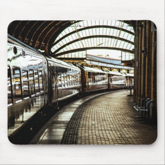 Train Station Mouse Pad