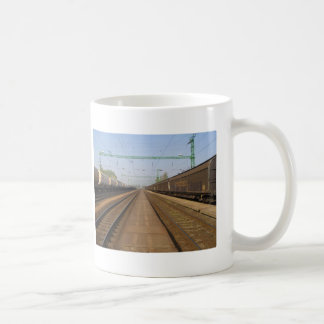 Train Station Coffee Mugs