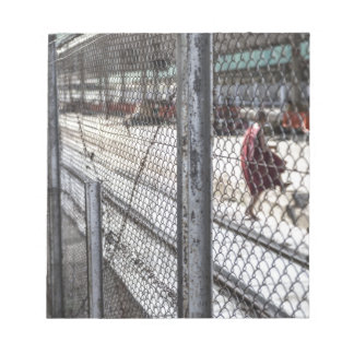Train station Myanmar Notepad