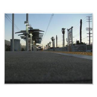 Train Station Photograph