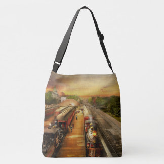 Train Station - The romance of the rails 1908 Crossbody Bag
