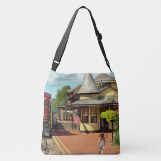 Train Station - There will always be hope Crossbody Bag