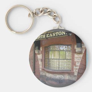 Train Station Window ~ keychain
