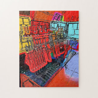 TRAIN STATIONS JIGSAW PUZZLE