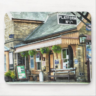 TRAIN STATIONS MOUSE PAD