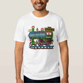 Train Steam Engine Choo Choo Apparel T-shirt