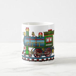 Train Steam Engine Choo Choo Coffee Mug