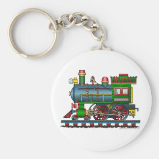 Train Steam Engine Choo Choo Key Chains