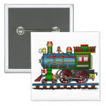 Train Steam Engine Choo Choo Pins