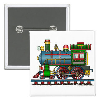 Train Steam Engine Choo Choo Pins